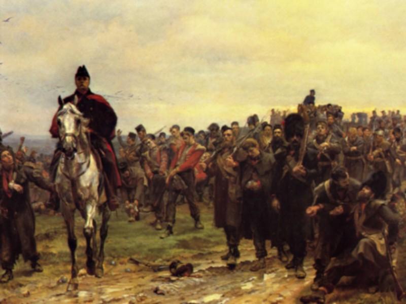 The Return From Inkerman, 1877 - Elizabeth Thompson -